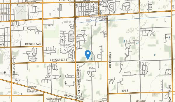 Paul Ruster Park Map