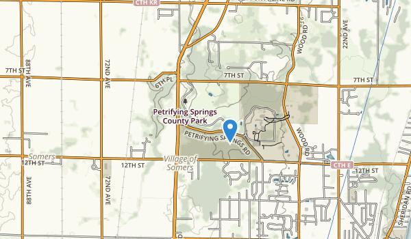 Petrifying Springs Park Map