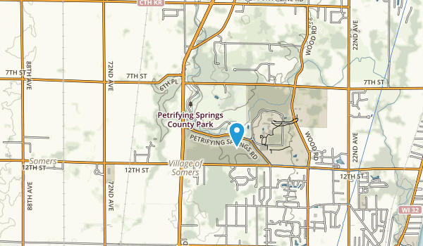 Petrifying Springs Park Map