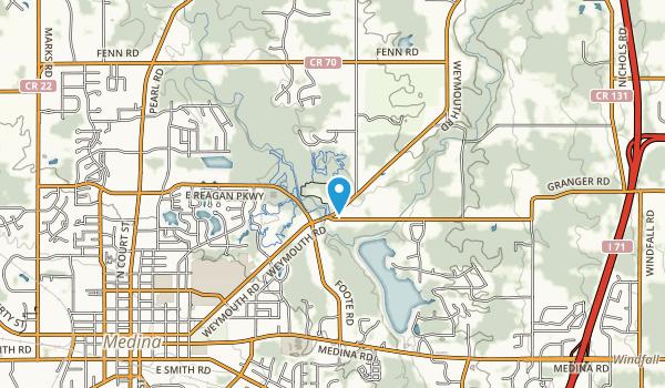 Reagan Park Map