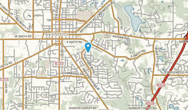 Roscoe Ewing Park Map
