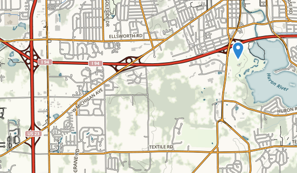 Saline Recreation Map