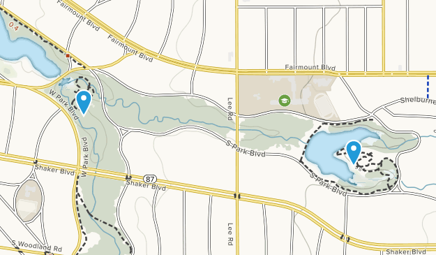 Shaker Heights Park Map