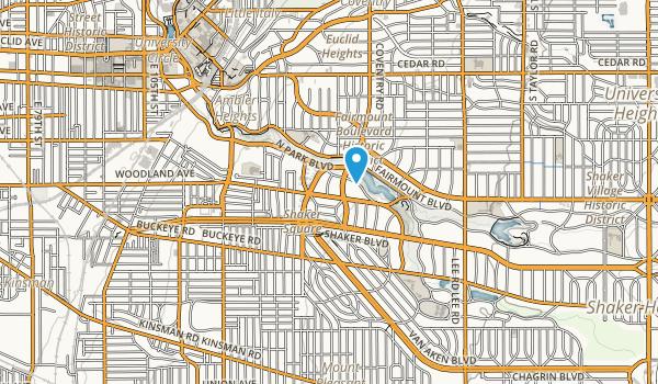 Shaker Square Map