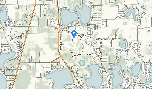 Sun Lake Forest Preserve Map