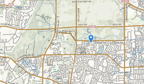 Surrey Woods Park Map