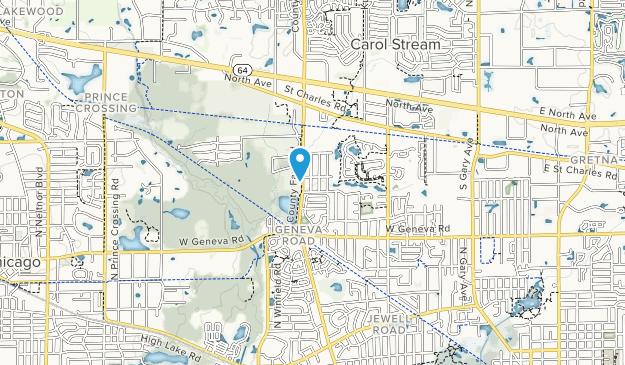 Timber Ridge Park Map