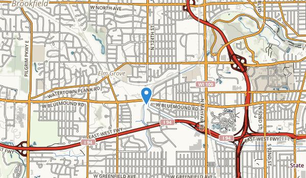 Underwood Creek Parkway Map