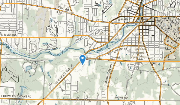 trail locations for Yakavona Park