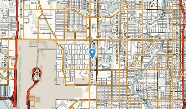 trail locations for Al Lopez Park