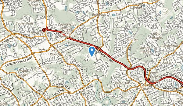Bethesda Community Park Map