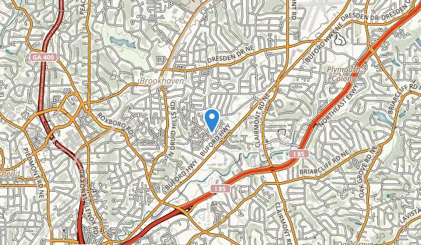 Briarwood Park Map