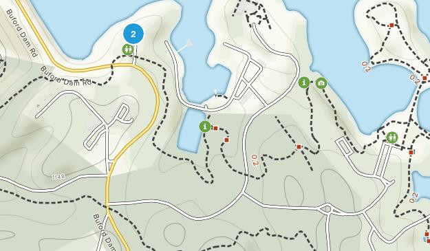 Buford Dam Park Map