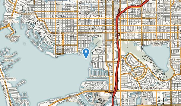 Clam Bayou Park Map