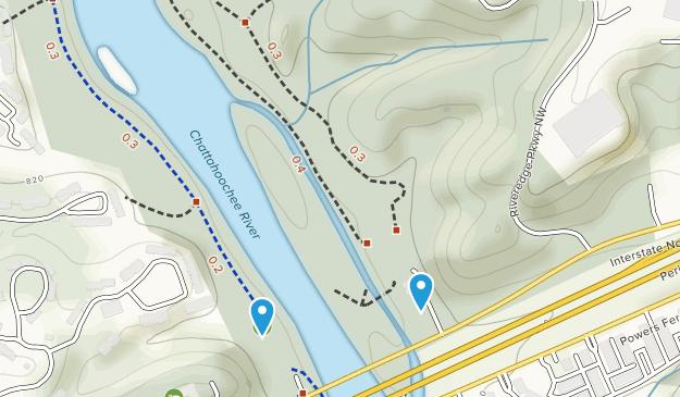 Cochran Shoals Park Map