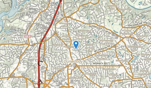 Dunwoody Park Map