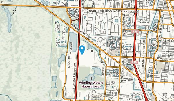 Dyer Blvd Park Map