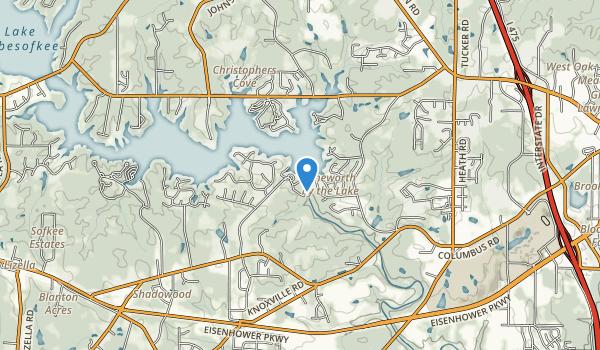 trail locations for Flintrock Park
