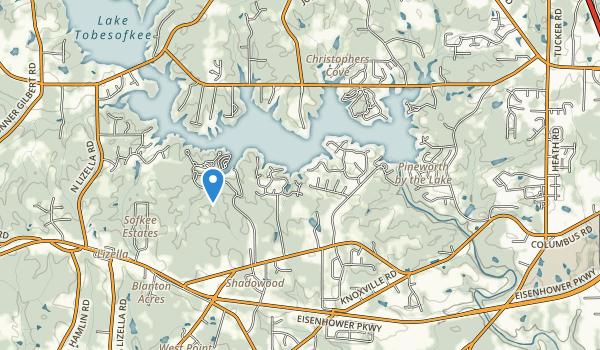 Flintrock Park Map