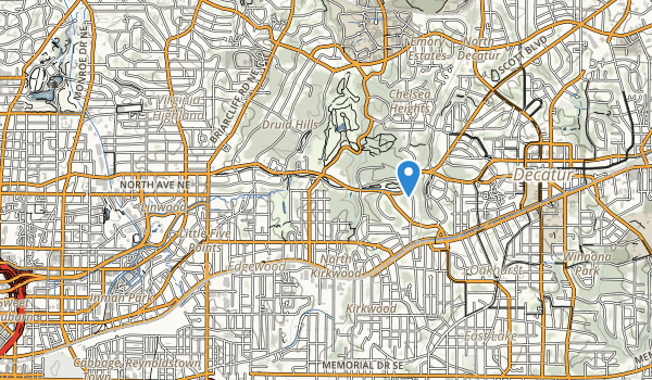 Goldsboro Park Map