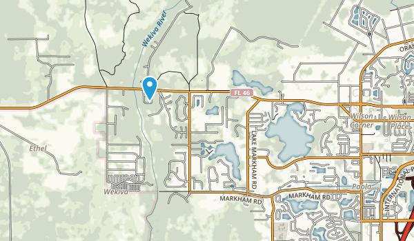 Lake Sylvan Park Map