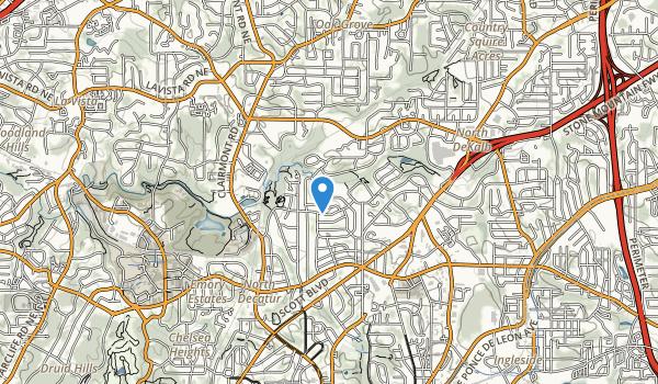 Medlock Park Map