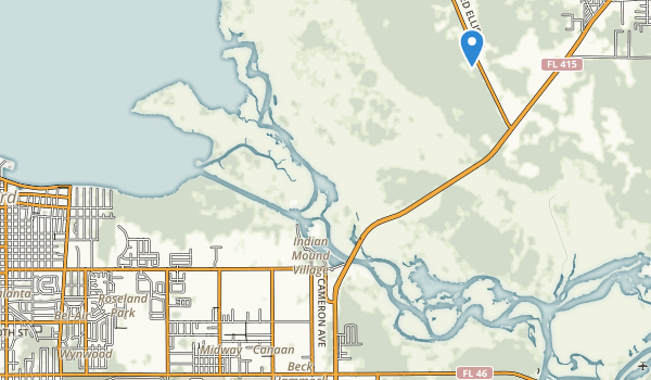 Midway Park Map