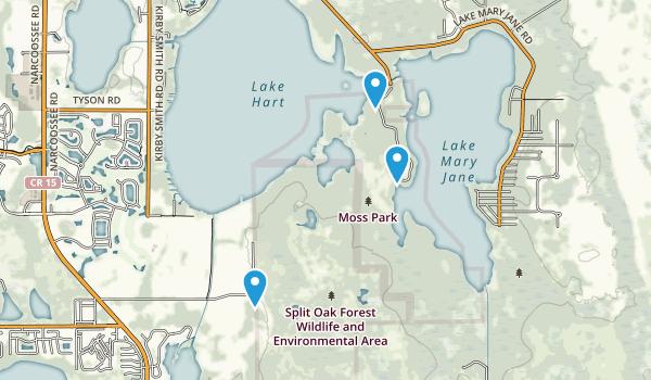Moss Park Map