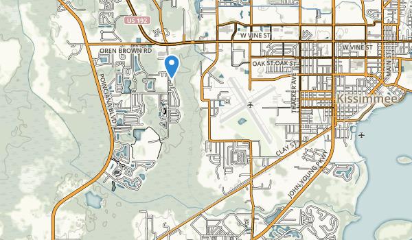 Oren Brown Park Map