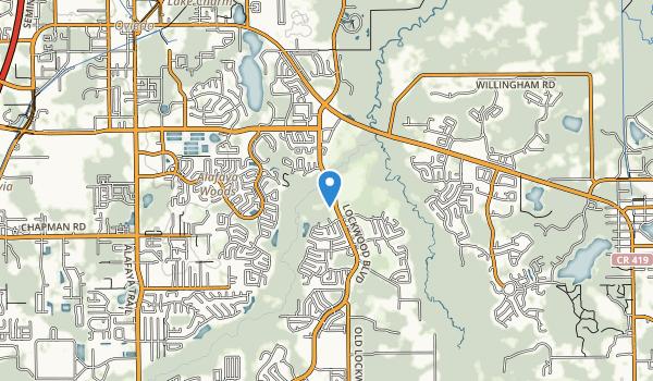 Oviedo Riverside Park Map