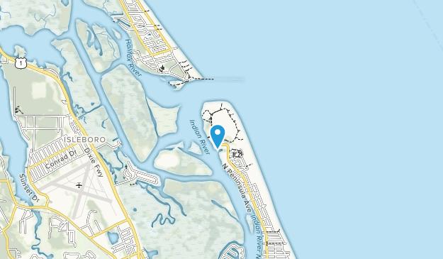 Smyrna Dunes Park Map