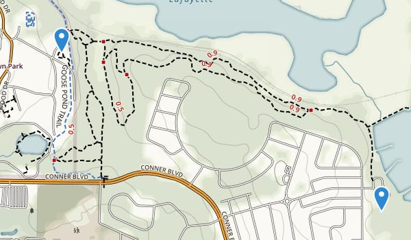 Tom Brown Park Map