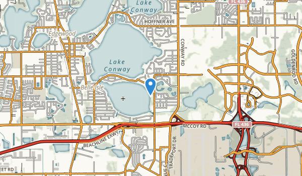 Warren Park Map