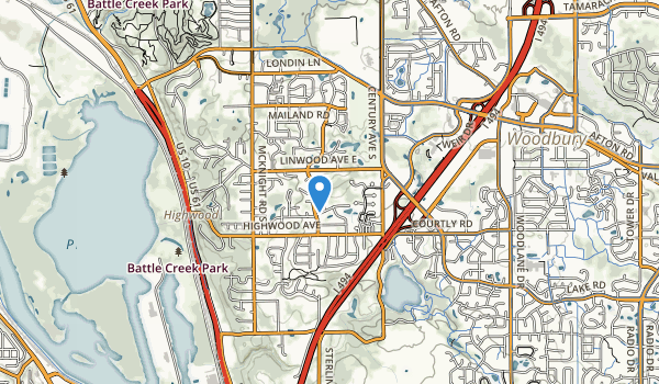 trail locations for Applewood Park