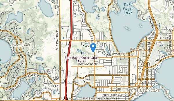 Bald Eagle-Otter Lake Park Map