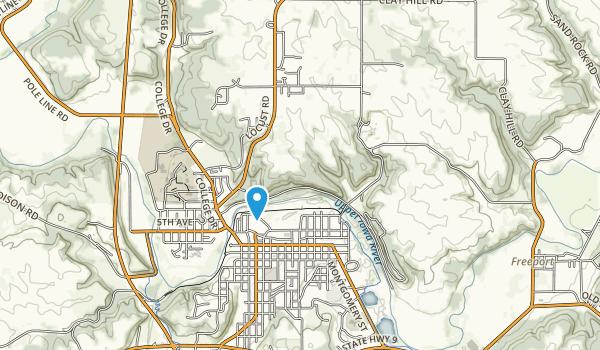 Barnhart-Van Peenen Park Map