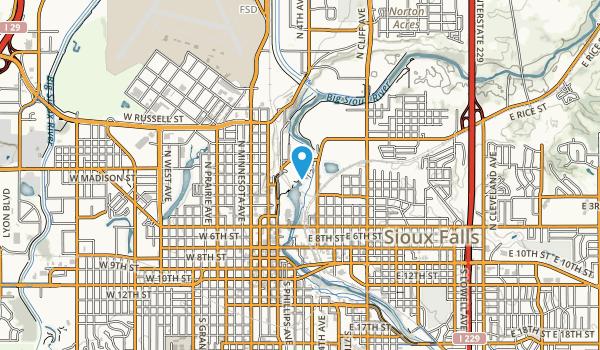 Falls Park Map