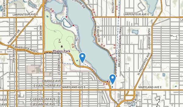 Phalen-Keller Reg Park Map
