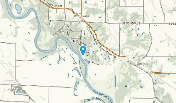 Polk Co Park Map