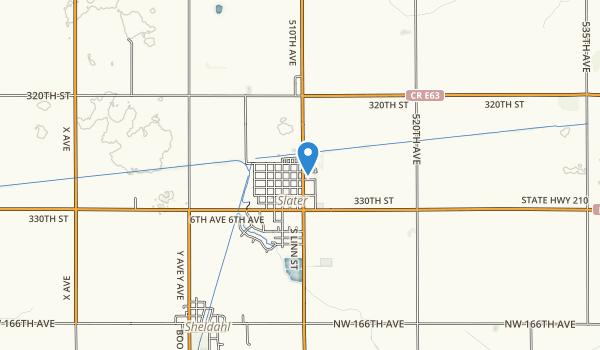 Slater City Park Map