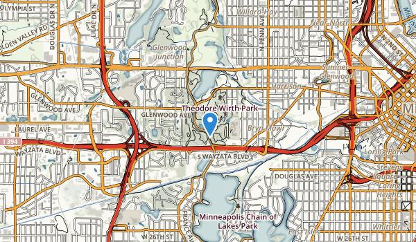 Theodore Wirth Park Map
