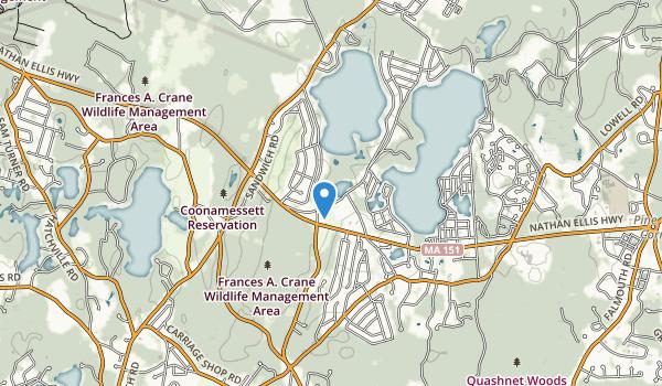 Ashumet Holly & Wildlife Park Map