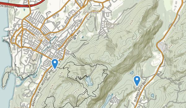 Beacon Memorial Park Map