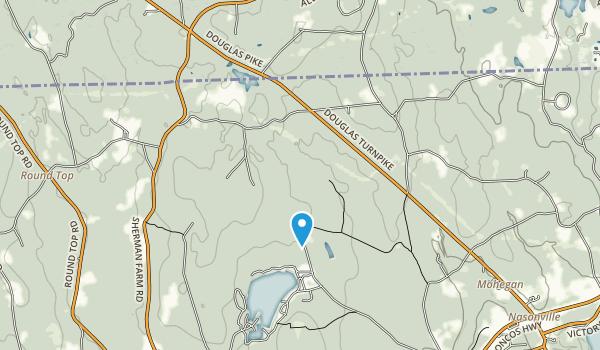 Black Hut Management Area Map