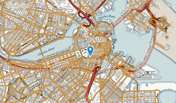 Boston Common Map