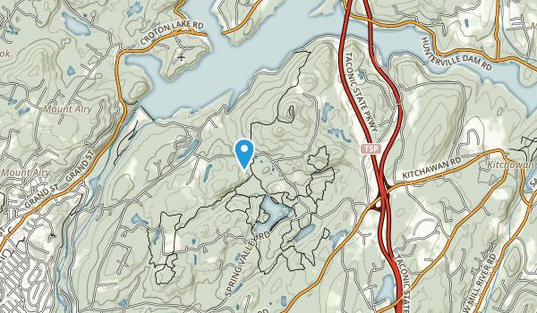 Briarcliff Peekskill Trailway Map