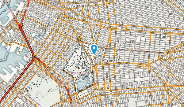 Brooklyn Botanic Gardens Map