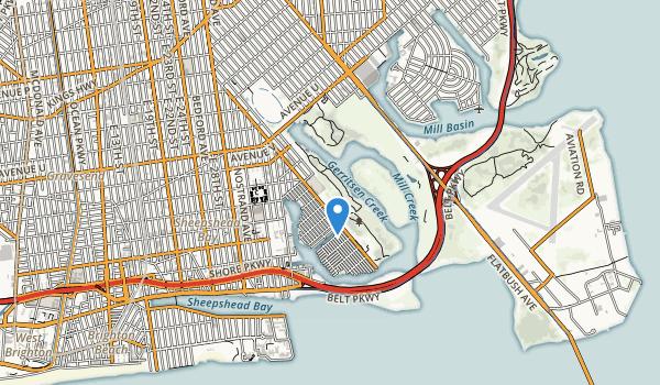 Brooklyn Marine Park Map