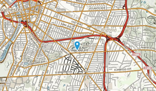 Cobbs Hill Park Map