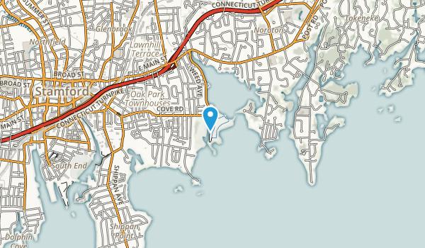 Cove Island Park Map